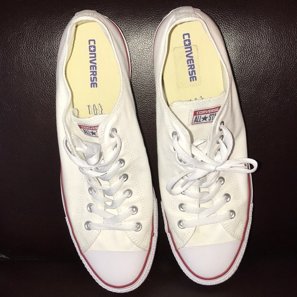 converse Shoes   White All Star Mens